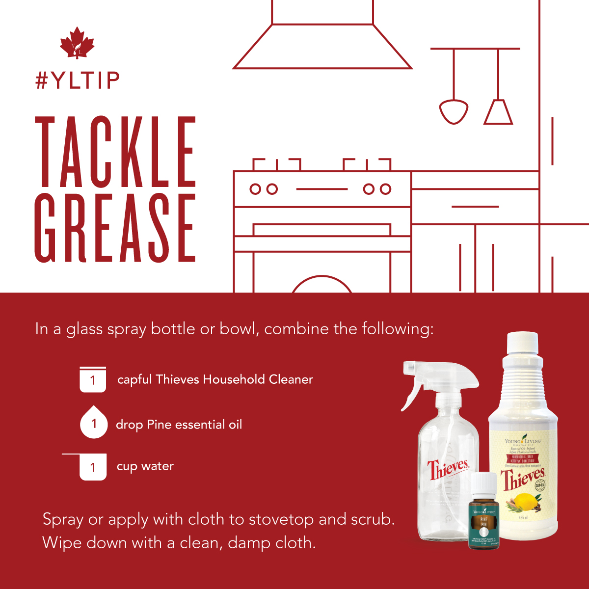 How To Make 25 Diy Cleaners With One Bottle Of Thieves Household Cleaner Young Living Canada Blog