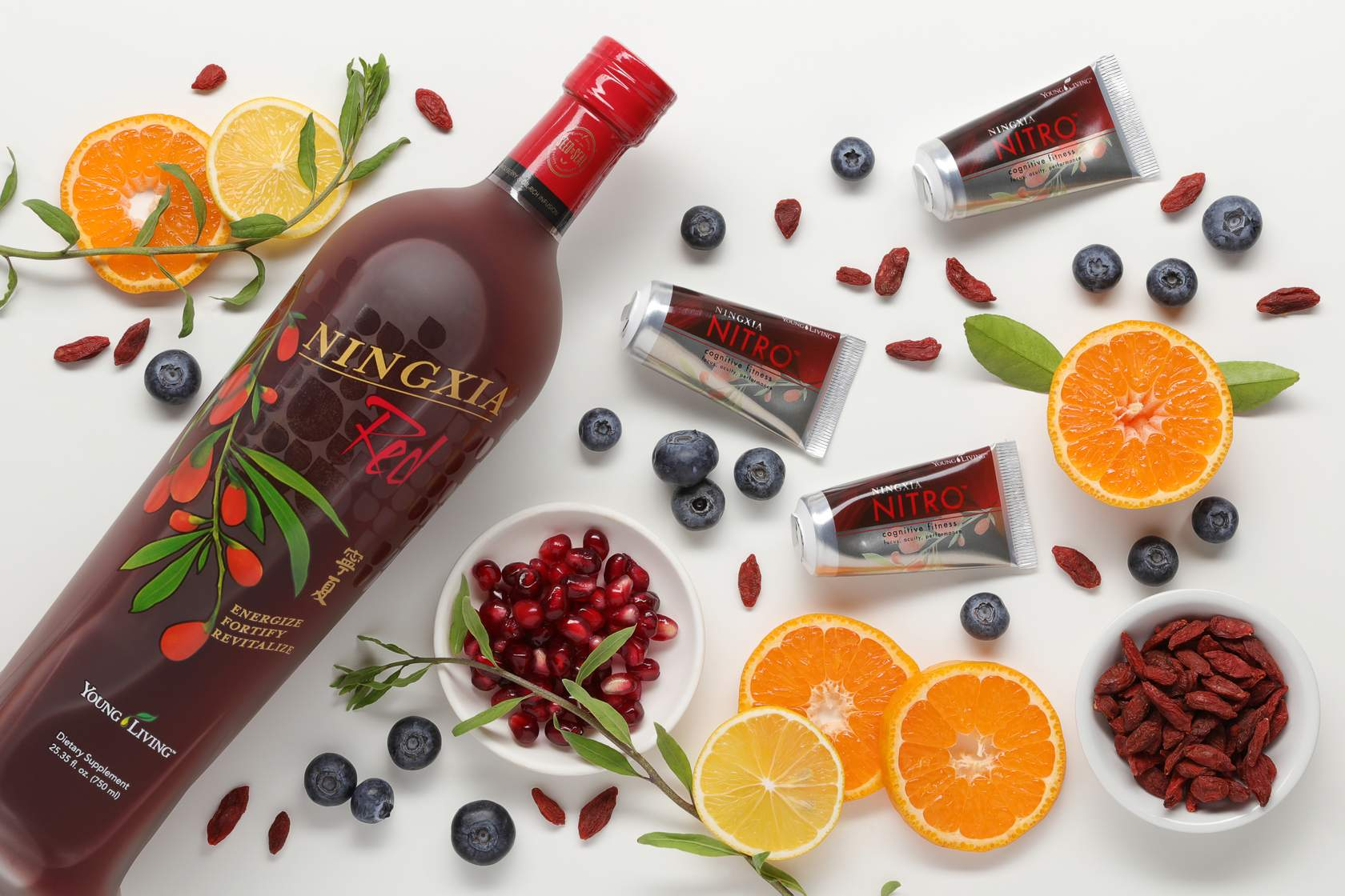 ningxia red, ningxia nitro, and wolfberries