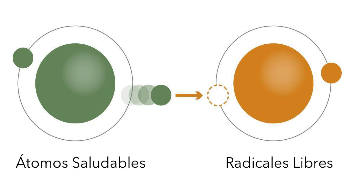 Infográfico de oxidación