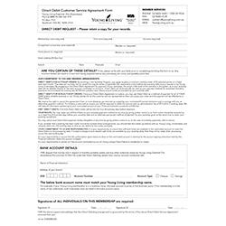 Document - Direct Debit Agreement -10pk
