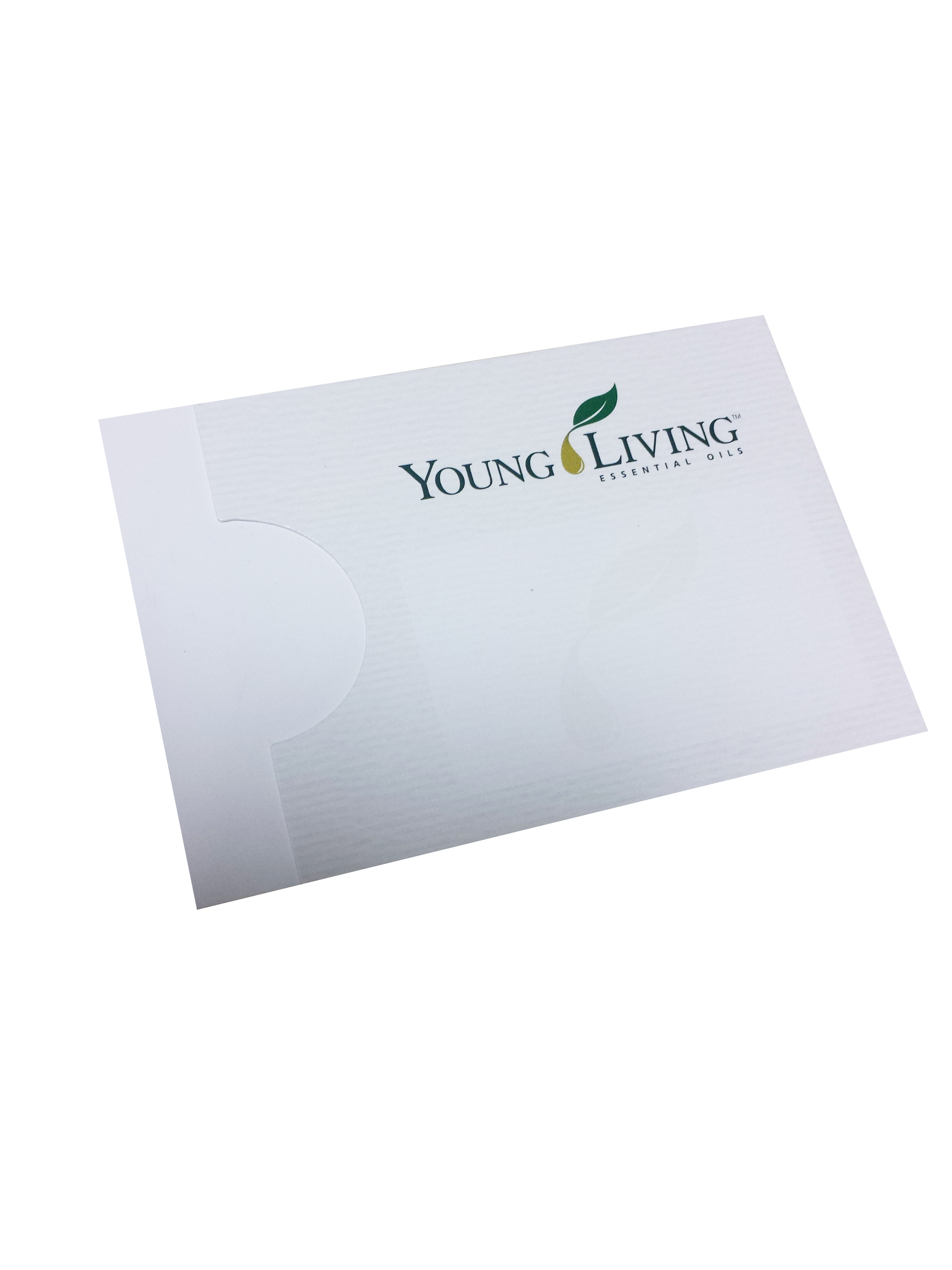 Sample Sachet Business Cards - 100 pk
