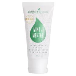 Satin Facial Scrub, Mint