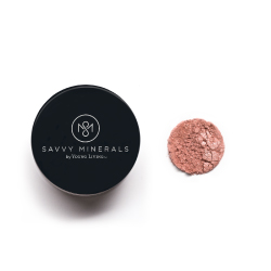 Savvy Minerals Blush -  I do believe you're blushin'