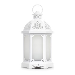 Young Living Lantern Diffuser White