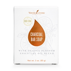 Orange Blossom Charcoal Bar Soap