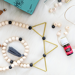 Christmas Spirit DIY Diffuser Garland