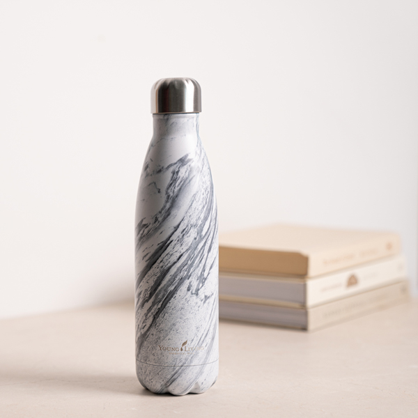 Marble Thermal Water Bottle