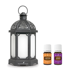Lantern Diffuser Charcoal