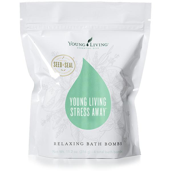 Young Living Stress Away®  Relaxing Bath Bombs