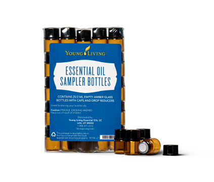 Sample Bottles - 2 ml, 25 pk