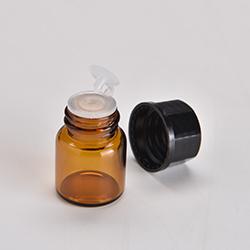 2ML遮光瓶(25個入り) 専用シール付