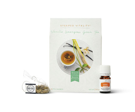 Vanilla Lemongrass Tea Set