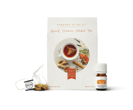 Spiced Turmeric Herbal Tea Set