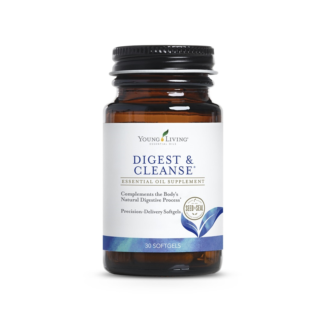 Digest Cleanse Softgels Young Living Essential Oils