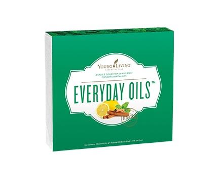 Colección de aceites esenciales diarios (Everyday Oils)