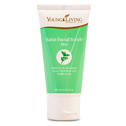 Satin Facial Scrub Mint - 57 g