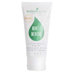 Satin Facial Scrub Mint