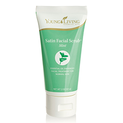 Satin Facial Scrub Mint – 57g