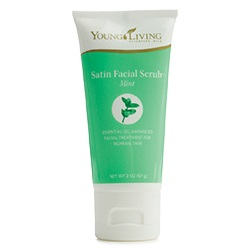 Satin Facial Scrub Mint 57g