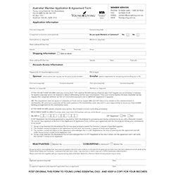 Application & Agreement Forms - 4pk