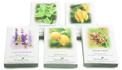 Essential Oil Sample Packets 5 Pack Assortment