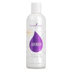 Lavender Bath & Shower Gel - Lavendel Bade- und Duschgel