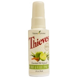 Thieves Fruit & Veggie Spray - 2oz