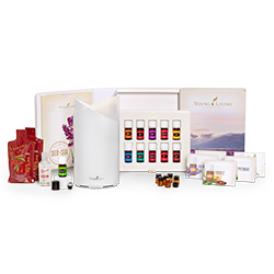 Premium Starter Kit with Bamboo Diffuser and Oils