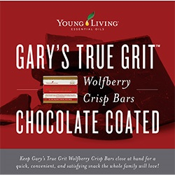 Wolfberry Crisp Bars Chocolate Brochure - 25 pk